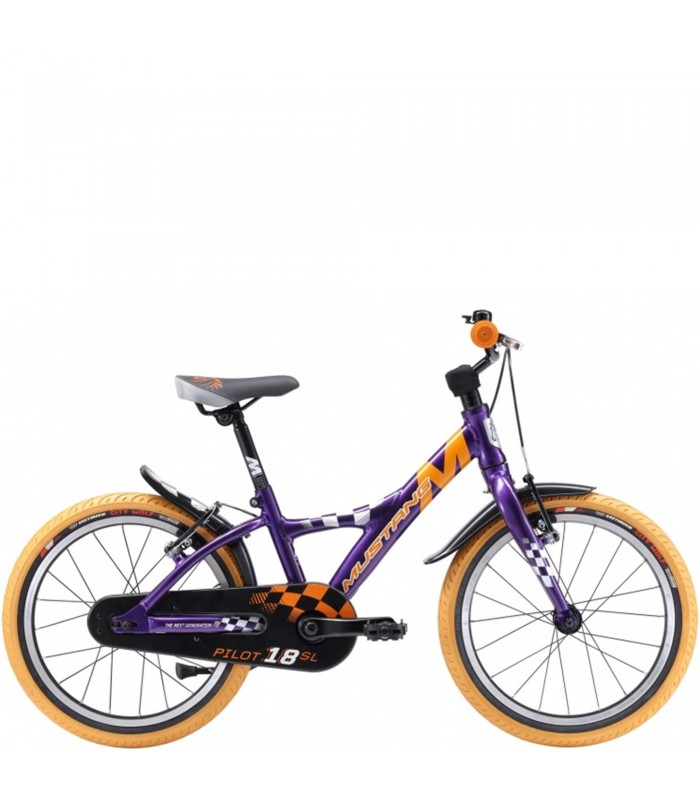 Bicicletta Per Bambini 18 Pollici Mustang Pilot 18 Boy Sl