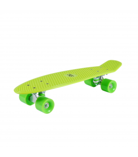HUDORA Candy Board Skateboard Retro Lemon Green 22 Zoll