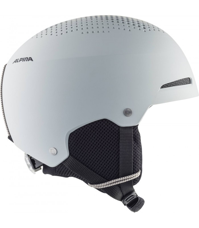 51-55 black matt ALPINA Unisex-Youth ZUPO Ski helmet
